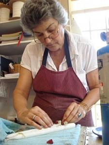 Susan Bradley at work